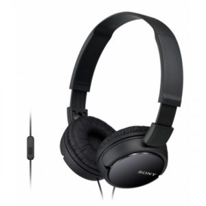 SONY MDR-ZX310AP HEADPHONE – BLACK