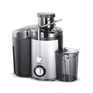 Sinbo Juice Extractor Chromium Steel Black (SJ-3018)