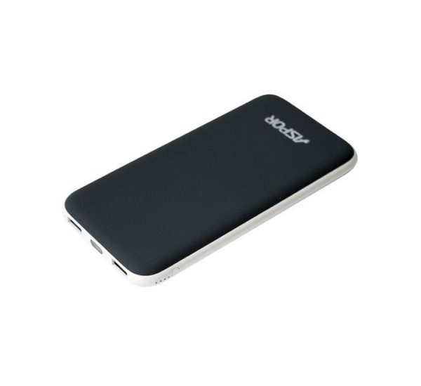 Aspor A386 Intelligent Dual USB 12000mAh Power Bank