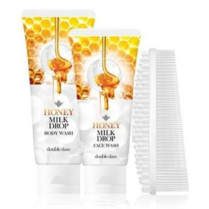 Double Dare Honey Milk Drop Face & Body Wash With I.M. Buddy