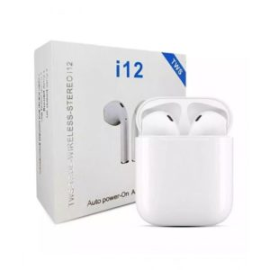 Eomobiles i12 TWS Wireless Bluetooth Earbuds White