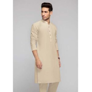 Light Beige Unstitched Fabric OPUS TABEER G