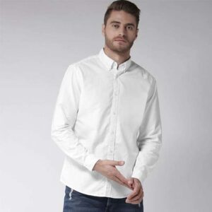 Simple white Casual shirts