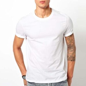 Simple white T shirts