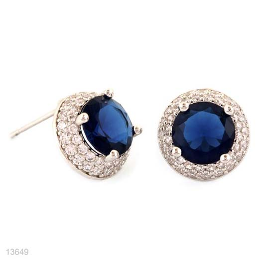 DEEP BLUE ROUND MICROPAVE TOPS