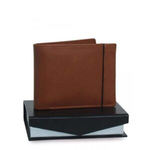 Fashion Leather Wallet For Men Brown