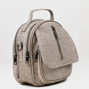 MINI TEXTURED BACKPACK