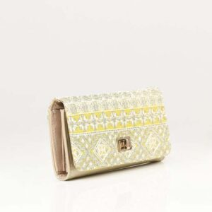 SEQUIN EMBROIDERED WALLET